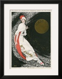 Vogue Cover - August 1912 Prints by George Wolfe Plank