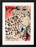 "Vogue Cover - November 1939 Prints by Carl ""Eric"" Erickson"