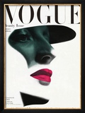 Vogue Cover - May 1945 - In the Shade Framed Giclee Print by Erwin Blumenfeld