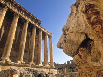 Temple of Bacchus, Baalbek, Bekaa Valley, Lebanon Photographic Print
