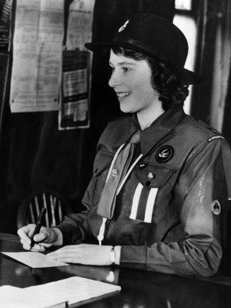 Queen Elizabeth Girl Scout
