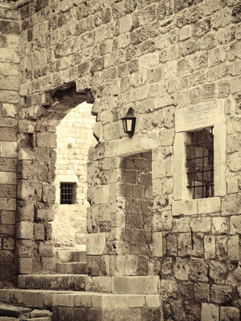 Lebanon, Tripoli, the Citadel Photographic Print