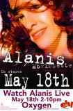 Alanis Morissette - So-Called Chaos Release Affischer