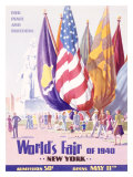 World's Fair, New York, c.1940 Lámina giclée