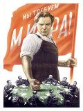 Soviet Communist Poster Giclee Print by Victor Koretsky