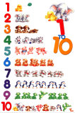 1 to 10 Plakat