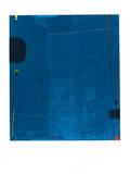 Diptychon Blau, c.1963 Serigrafi (silketryk) af Max Ackermann