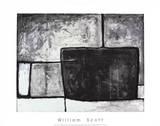 Composition II, c.1955 Sérigraphie par William Scott