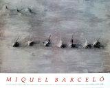Paysage avec Sept Fruits, 1989 Samlertryk af Miquel Barceló