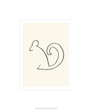The Squirrel Serigrafi (silketryk) af Pablo Picasso