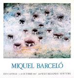 Fifteeen Holes, 1987 Samlarprint av Miquel Barceló