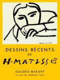Dessins Recents, 1952 Poster van Henri Matisse