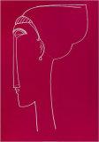 Testa Die Profilo, c.1911 Serigrafía por Amedeo Modigliani