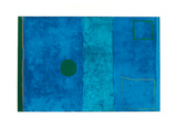 Blue Painting Serigrafi (silketryk) af Patrick Heron
