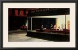 Nighthawks Posters por Edward Hopper
