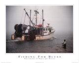 Pescando nel mare Poster di Marcia Joy Duggan