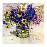 Late Summer Flowers Kunstdrucke von Deborah Chabrian