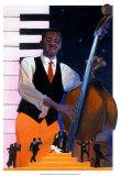 Subtle Midnight Blues Affischer av Derrick Webb