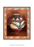 Southwest Pottery I Prints by Chariklia Zarris