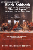 Black Sabbath - The Last Supper Plakater