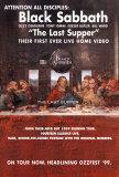 Black Sabbath - The Last Supper Kunstdrucke