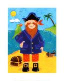 Treasure Island III Posters by Sophie Harding