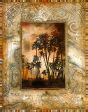 Tahitian Sunset II Posters par John Douglas