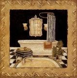 Maison Bath II Affiches par Charlene Winter Olson