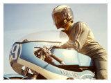 Italjet GP Mototcycle Reproduction procédé giclée par Giovanni Perrone