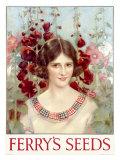 Ferry's Seed, Garden Maiden Giclée-vedos