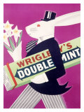 Wrigley's Chewing Gum Reproduction procédé giclée