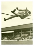 Track and Field, High Jump Giclée-Druck