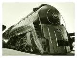 Deco Train Engine Giclée-Druck