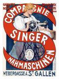 Singer Sewing Machine ジクレープリント