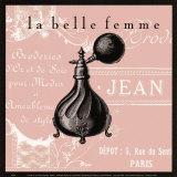 La Belle Femme III Posters by Paula Scaletta
