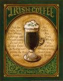 Irish Coffee (Kleinformat) Poster von Gregory Gorham