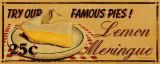 Zitronen-Baiser Poster von Catherine Jones