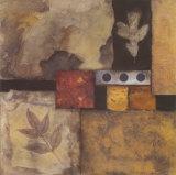 Autumn Abstract I Poster von Norm Olson