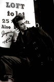 James Dean (Coat) Movie Poster Print Foto
