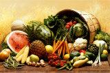 Obst und Gemüse Poster