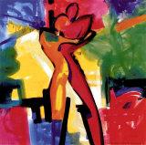 Farbfilmliebe I Kunstdrucke von Alfred Gockel