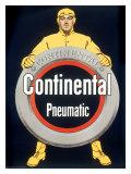 Continental Pneumatic Tire Giclée-Druck