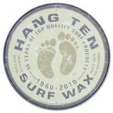 Cera para tablas de surf de Hang Ten (redondo) Carteles metálicos