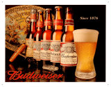 Budweiser Since 1876 Blikskilt
