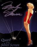 Marilyn Monroe Queen of the Screen Blikkskilt