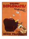 Diplomate Cigar Giclee Print