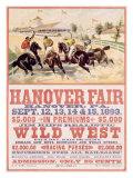 Hanover Fair Horse Race Giclée-tryk