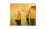 Rocks at Sea Impressão giclée por Claude Monet
