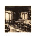 Café, Montepulciano Kunstdrucke von Alan Blaustein
