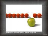 Apfel / Newton Poster
